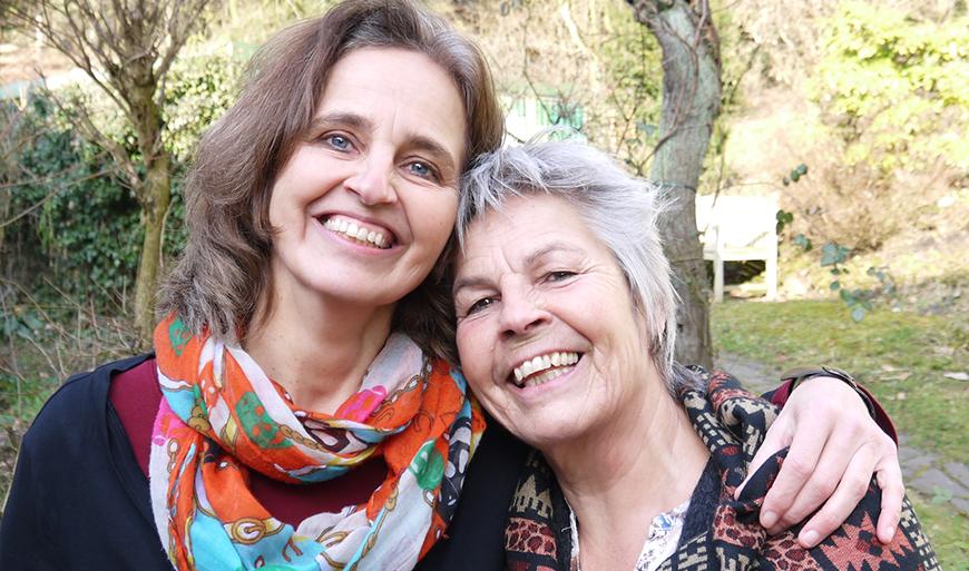 Hilde Kuhlmann und Jutta Dollbaum