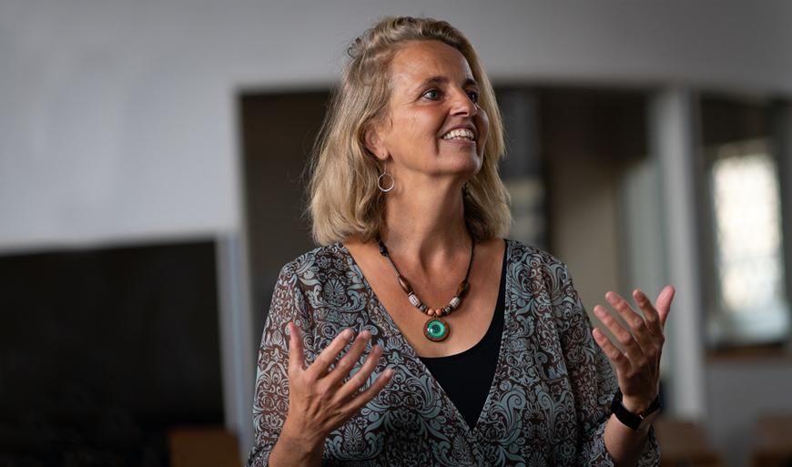 Hilde Kuhlmann Workshop Zur eigenen Stimme finden
