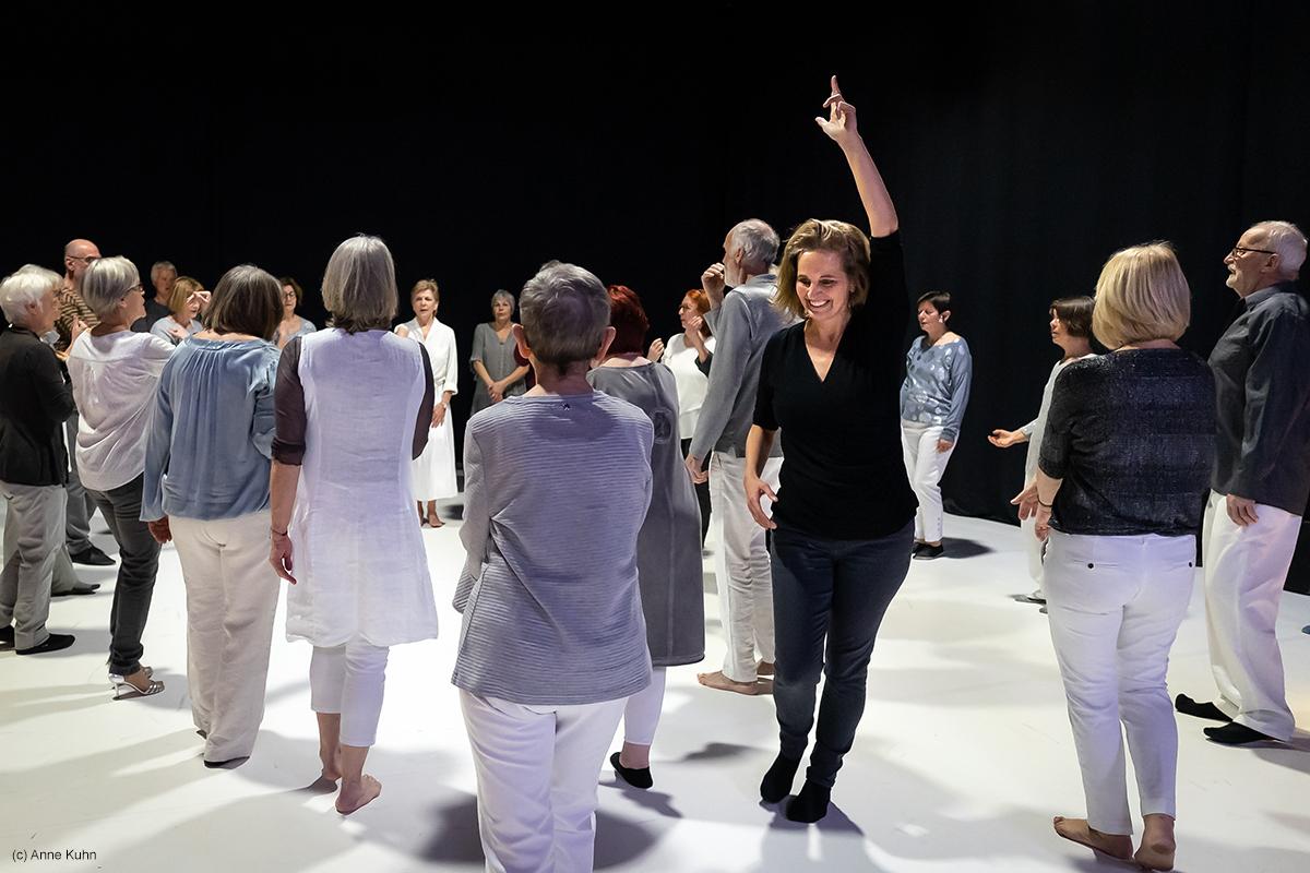 Hilde Kuhlmann - tanzcHor60+